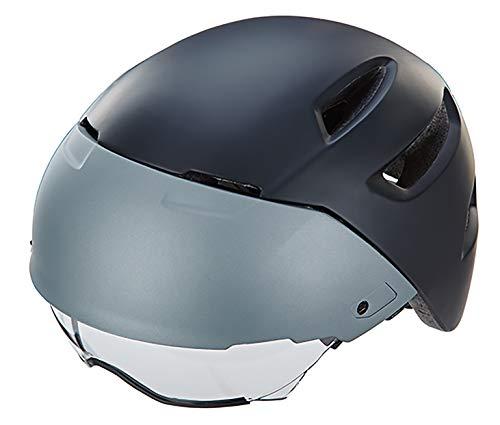 Prophete Unisex- Erwachsene S-Pedelec Helm Größe: 58-61 cm, matt schwarz/grau, TÜV/GS geprüft Fahrradhelm