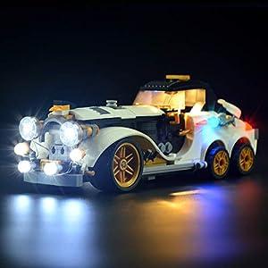LIGHTAILING Set di Luci per (Batman La Limo Arctique Du Pingouin) Modello da Costruire - Kit Luce LED Compatibile con… 6 spesavip