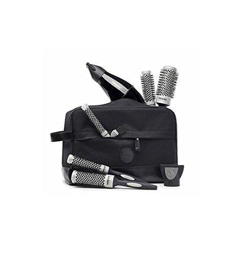 Set Termix Tasche Deluxe für Profis mit kompaktem Haartrockner und 5 Bürsten Evolution Basic