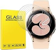 (6 حزم) واقي شاشة Samsung Galaxy Watch 4 (40 مم) ، طبقة TPU مرنة مضادة للخدش وخالية من الفقاعات المضادة لبصمات