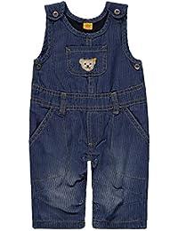 Steiff Baby-Jungen Latzhose Jeans