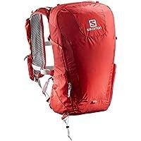Salomon L40119000 Zaino Leggero da Escursionismo 20 l Peak 20, Rosso/Grigio Scuro