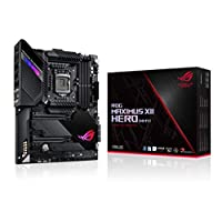 ASUS ROG Maximus XII Hero Z490 (WiFi 6) LGA 1200 (Intel® 10th Gen) ATX Gaming Motherboard (14+2 power stages, DDR4 4800+, 5Gbps LAN, Intel® LAN, Bluetooth v5.1, Triple M.2, Aura Sync)