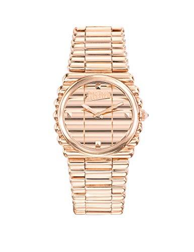 Reloj mujer JEAN PAUL GAULTIER–borde Costa–Pulsera acero PVD Rosé–34mm–8504106