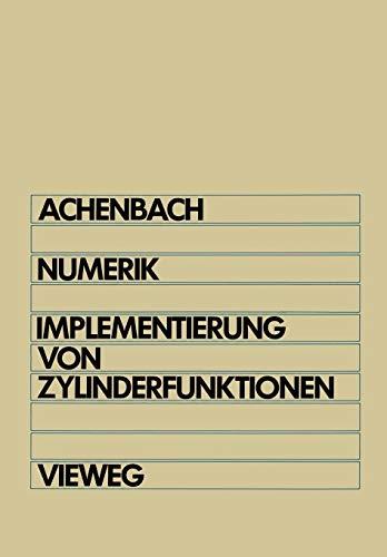 Numerik: Implementierung von Zylinderfunktionen