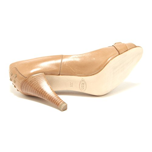 15758 decollete spuntata TOD'S scarpe donna shoes women Beige