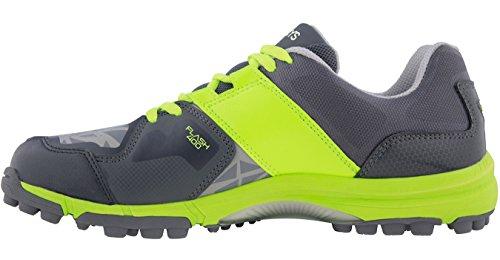 GRAYS Junior Flash Hockey Schuhe, Grün - grün - Größe: 37.5 (Grün-flash-schuhe)