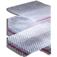 100 abrigo de burbuja bolsas llano 130 mm x 180 mm (BP02) 12,7 cm x 17,78 cm