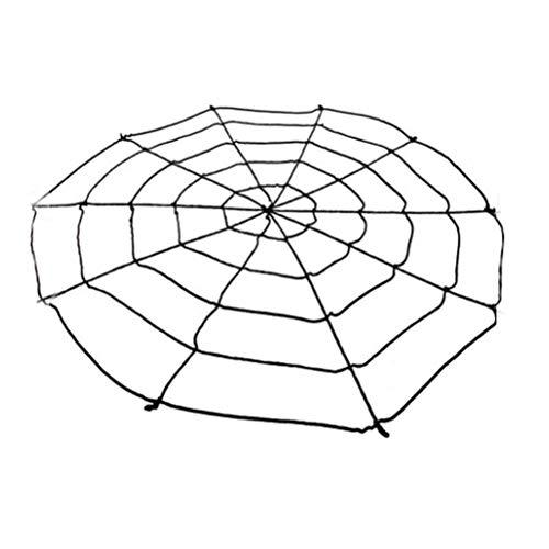 16Jessie Halloween Riesenspinnennetz Gruseliges Dekor Super Stretch Cobweb Set Stellen Sie rundes gefälschtes Spinnennetz EIN Riesiges Stretch-Spinnennetz Hofparty