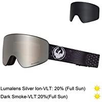 a0c7f408af5 Amazon.co.uk  Dragon - Goggles   Skiing  Sports   Outdoors