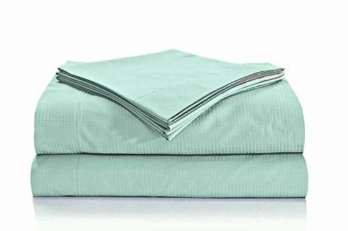 natural-comfort-premier-hotel-select-sheet-set-california-king-geometrix-light-teal-by-natural-comfo