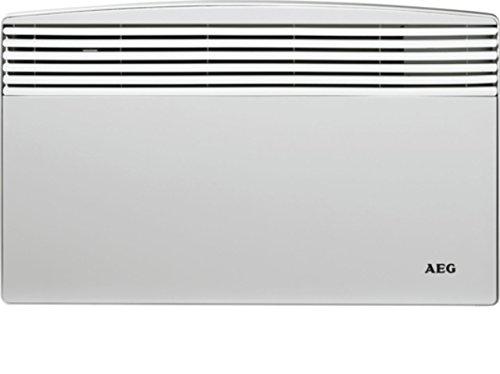 AEG 220998 WKL 1003 S Wandkonvektor, Heizung 1.000 W für Bad, Hobbyraum, Gästezimmer, für ca. 10 m²