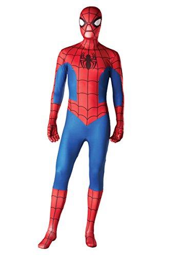 Kostüm Und Umhang - Erwachsene Unisex: Männer Und Frauen Zweite Haut | Zentai Strampelanzug Kleidung Outfit Halloween Lycra Billig (Groß) (Erwachsenen Strampelanzug Kostüm)