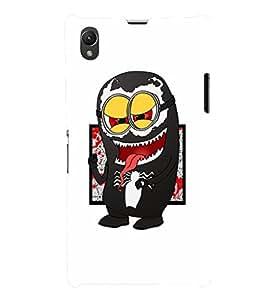 EPICCASE Minion Symbiote Mobile Back Case Cover For Sony Xperia Z1 (Designer Case)