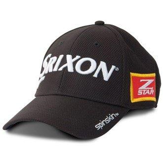 2015 Srixon Z-Star Spinskin Hat Tour Mesh Fitted Mens Golf Cap Black Small/Medium
