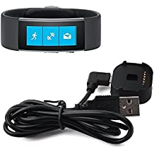 BlueBeach® Reemplazo USB carga cable cargador Dock para Microsoft reloj 2 (No es adecuado para Microsoft reloj 1 ª generación)