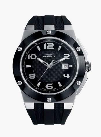 Montre Sandoz Caractere 81319-55 Homme Noir