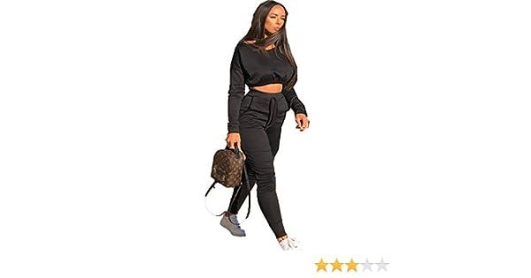 Ladies Tracksuits Crop Tops+Pants 2pcs Lounge Wear Casual Suit Tracksuits for Women EDGE 99 Women Tracksuit Jogging Tracksuit Set