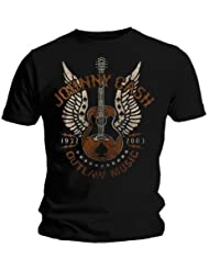 Johnny Cash T-Shirt Music Outlaw Größe XL