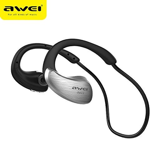 JIAMENG Bluetooth 4.1 Wireless Earbuds Schwitzwassergeschütztes bilaterales Stereo-CVC 6.0-In-Ear-Headset mit Rauschunterdrückung für Hi-Fi-Surround-Sound für Sport, Laufen und Training DJ
