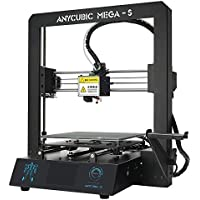 "ANYCUBIC MEGA-S 3D Printer Printing Size 210 x 210 x 205mm With UltraBase Heated Build Plate UK Plug, 3.5"" Touch Screen + Free 1kg PLA Filament, Works with TPU/PLA/ABS"