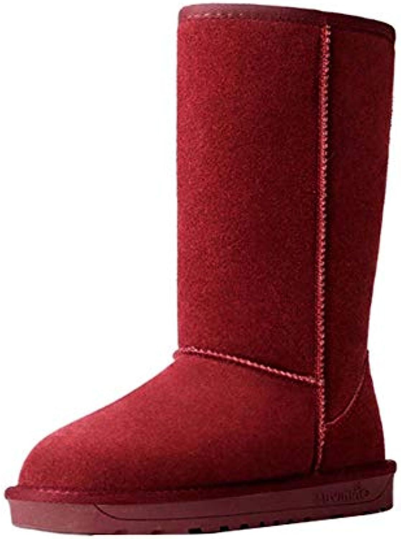 Huatime Scarpe Donna Invernale Stivaletti - - - Donne Stivali da Neve Classico con Antisdrucciolo Impermeabile Comfort... | Diversificate Nella Confezione  e4fb6c