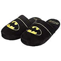 Batman DC Comics Black Mule Adult Slippers 8-10