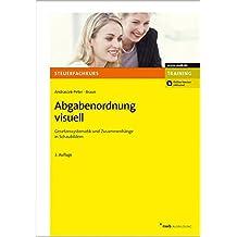 Abgabenordnung visuell: Gesetzessystematik und Zusammenhänge in Schaubildern (Steuerfachkurs)