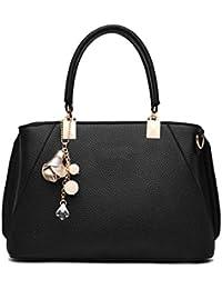 2bd85c7e89f68 WANGQW Mittleren Alters und Ältere Frauen Mobile Handtaschen Mutter Mutter  Damen Weichen Ledertasche Mutter-In-Gesetz-Messenger…