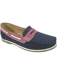 Footwear Sensation , Chaussures bateau pour femme