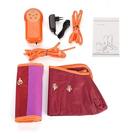 TRDCZ Manguera Eléctrica Brazo Manguito Máquina De Masaje Circulación Pierna Envuelve Compresor De Aire Brazo Pierna Masajeador para Brazo Pantorrilla Fisioterapia