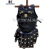 nautique Mart romain musculaire Chasse médiéval Armour Noir Finition antique Armour