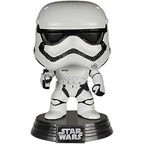 Funko - Figurine Star Wars Episode 7 - First Order Stormtrooper Pop 10cm - 0849803062255