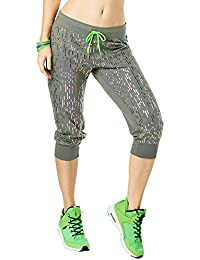 Zumba Women's Lost in the Music Capri Pants