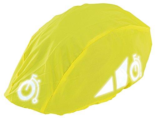Prophete Reflexüberzug für Fahrradhelme Helmüberzug, gelb, M