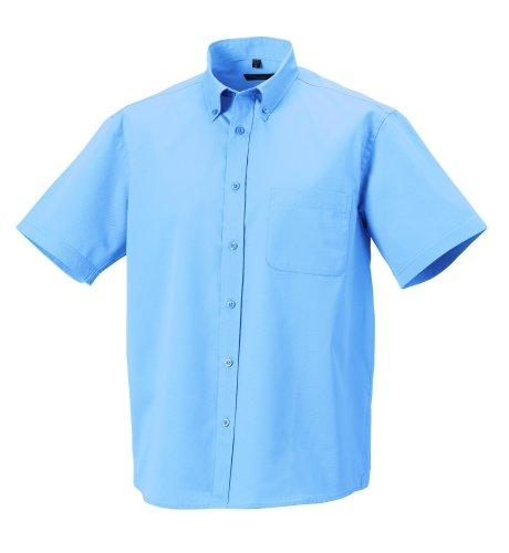 Z917M Russell con maniche Twill-camicia da uomo – fino a misura 4XL