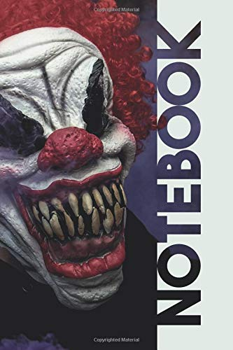 Notebook: Scary Clowns Practical Composition Book for Horror Film Fans por Molly Elodie Rose