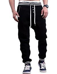 Young & Rich Drake Unisex Pantalon de Jogging Sport Harem Buton UNI Homme div. Color (S-XL)