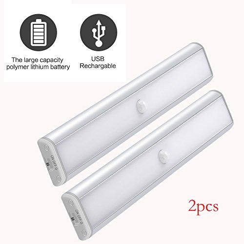 Cabinet Armadio 10 LED Light Bar, PIR