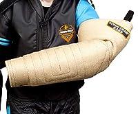 DINGO GEAR S01960 Manchon très Rigide avec poignée pour Chien pour entraînement de Morsure Fait à la Main en Jute, Manchon pour gaucher et droitier