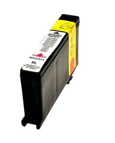 Cartuccia Compatibile Per Lexmark 100Xl Magenta Lex14N1070E
