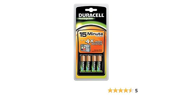 Duracell Ladegerät Cef15 Mit Akku Inkl 4x Aa Batterien Bürobedarf Schreibwaren