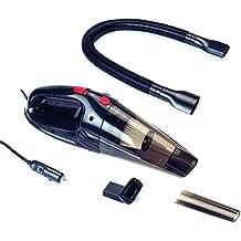 Auto Companion - Aspirador de 12 V para seco y húmedo con bolsa de transporte y herramientas
