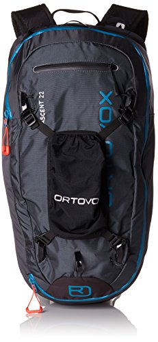 Ortovox Ascent 22, Zaino Unisex-Adulto, Nero (Black Anthracite), 24x36x45 Centimeters (W x H x L)