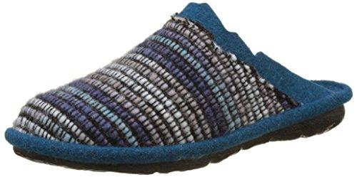 Romika Damen Mikado 96 Pantoffeln, Mehrfarbig (Blau-Multi (502)), 39 EU