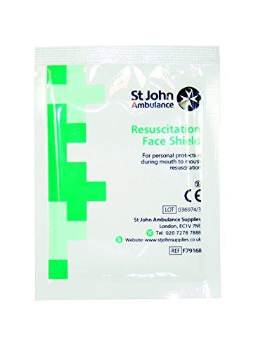 St John Ambulance Gesichtsschutz, 10 Stück