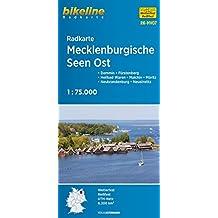 Mecklenburgische Seen East Cycle Map: BIKERK.DE.MV07