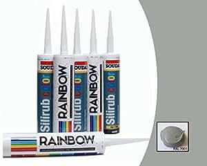 gris argenté Silicone Premium Caulk mastic Scellant RAL 7001