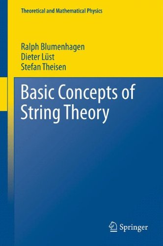 Basic Concepts of String Theory (Theoretical and Mathematical Physics) por Ralph Blumenhagen