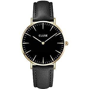 Cluse Montre Homme Analogique Quartz avec Bracelet en Cuir – CL18401